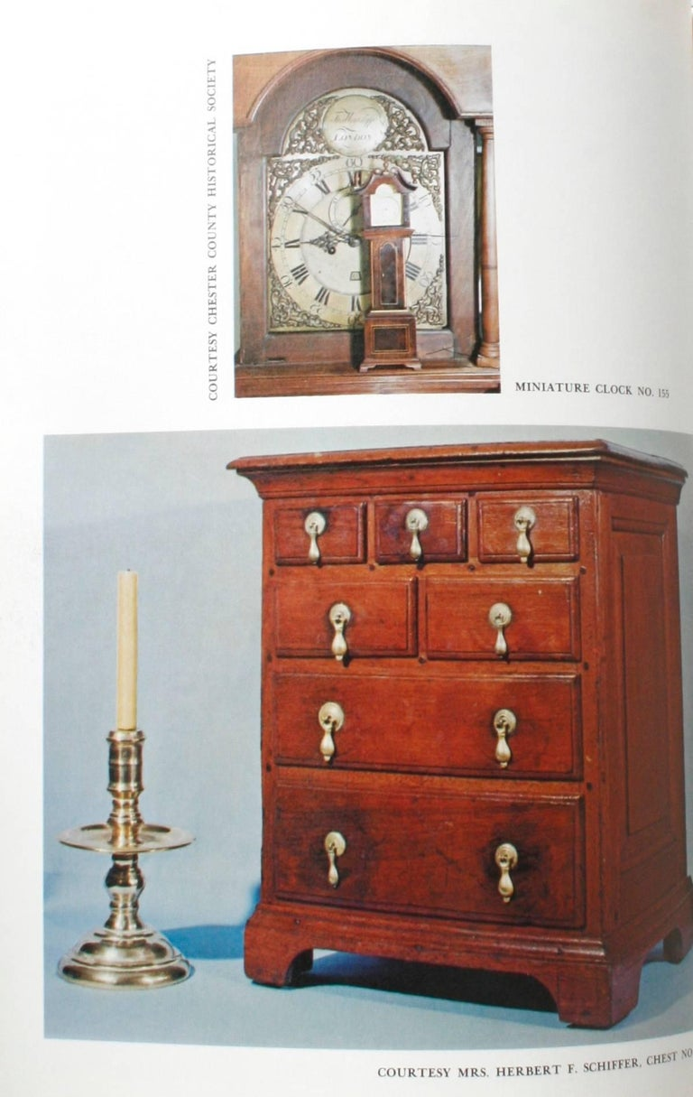 Miniature Antique Furniture, First Edition For Sale 1