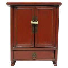 Miniature Chine Red Cabinet