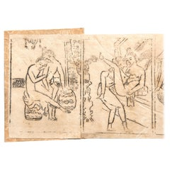 Miniature Chinese Erotic Pillow Book