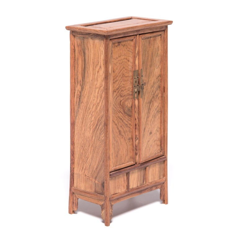 Contemporary Miniature Chinese Noodle Cabinet For Sale