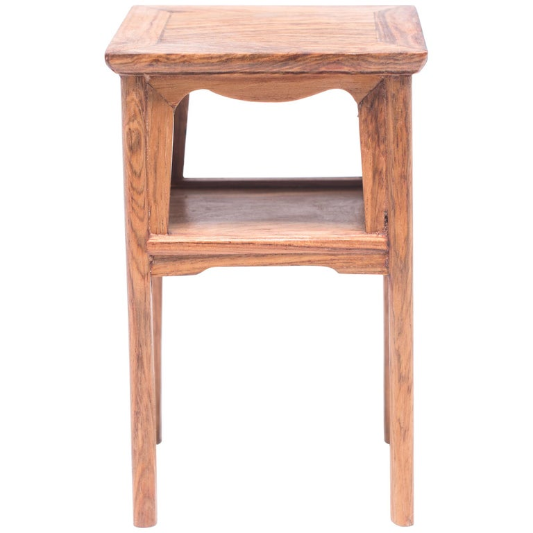 Miniature Chinese Square Side Table For Sale