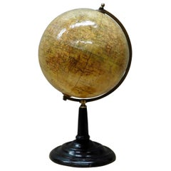 Miniature Edwardian Geographia Table Globe