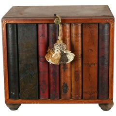 Miniature Faux Library Drawers