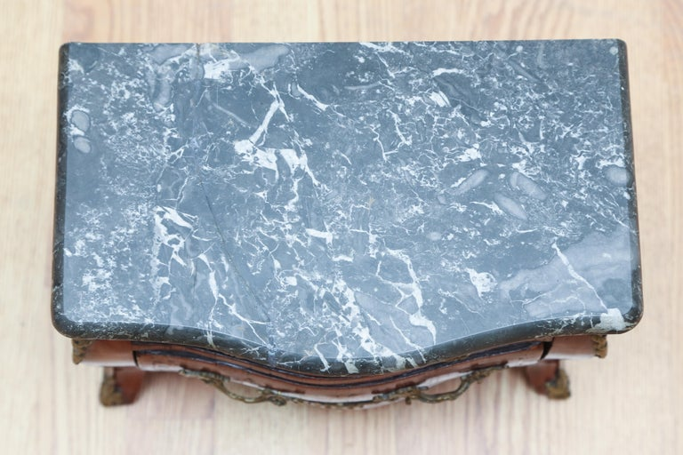 Miniature French Marble-Top Commode For Sale 2