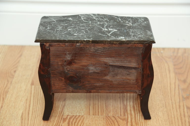 Miniature French Marble-Top Commode For Sale 3