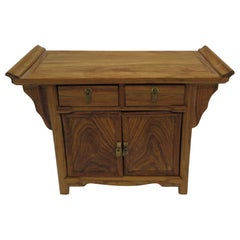 Miniature Huanghuali Wood Chinese Sideboard