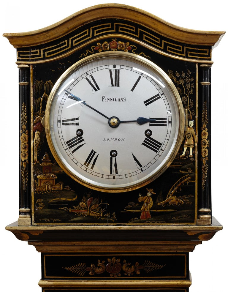 British Miniature Longcase / Grandmother Clock For Sale