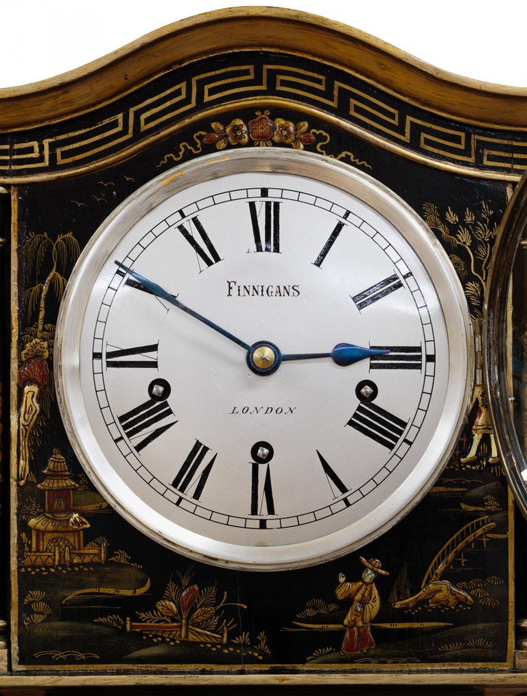 Miniature Longcase / Grandmother Clock In Good Condition For Sale In Norwich, GB