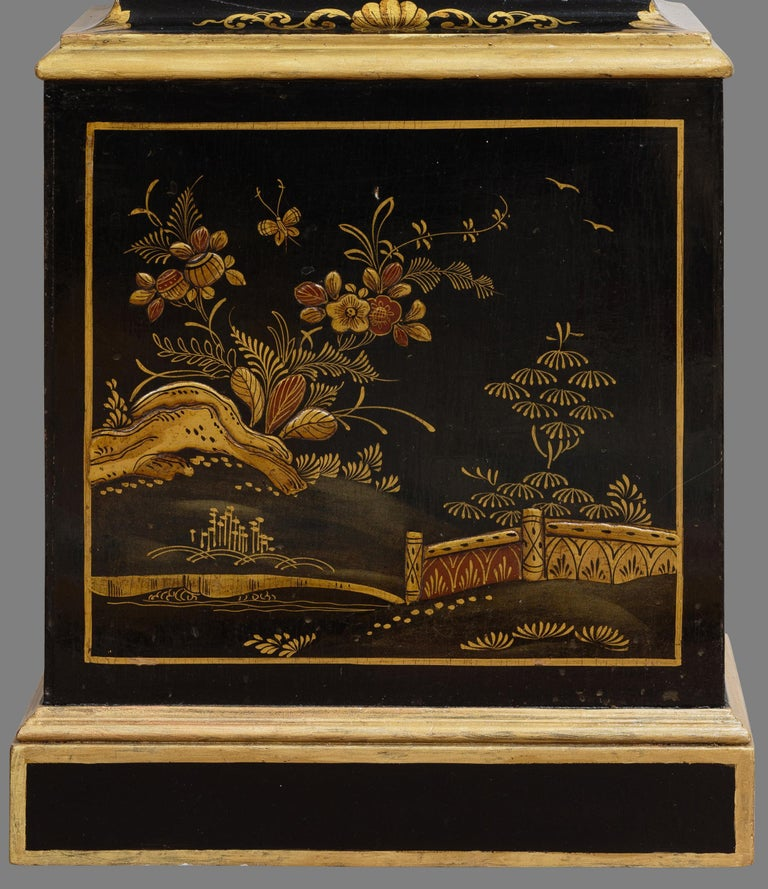 Wood Miniature Longcase / Grandmother Clock For Sale