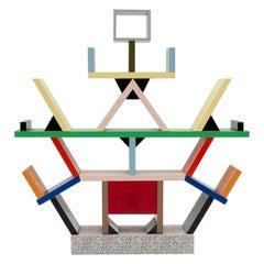 Miniatur Carlton Bücherregal, Designed von Sottsass Memphis Milano