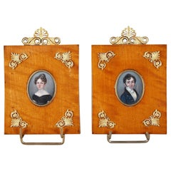 Miniature Paintings by Miss Hyacinthe Mercier, French, 1808-1839