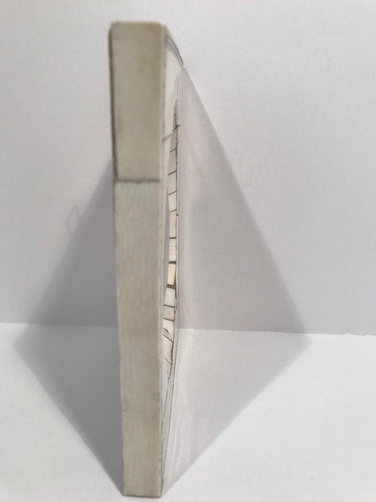 A Miniature portrait of a
