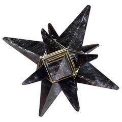 Miniature Star Rock Crystal Table Light by Phoenix