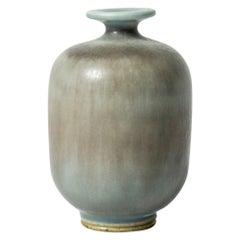 Miniature Stoneware Vase by Berndt Friberg for Gustavsberg, Sweden, 1950s
