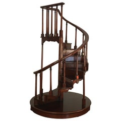 Miniature Wood Staircase by Maitland Smith