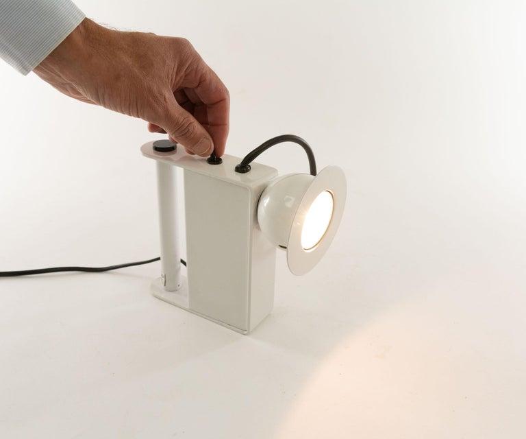 Minibox Table Lamp by Gae Aulenti & Piero Castiglioni for Stilnovo, 1980s For Sale 2