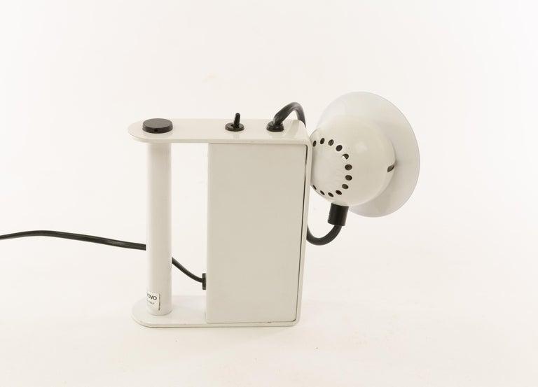 Italian Minibox Table Lamp by Gae Aulenti & Piero Castiglioni for Stilnovo, 1980s For Sale