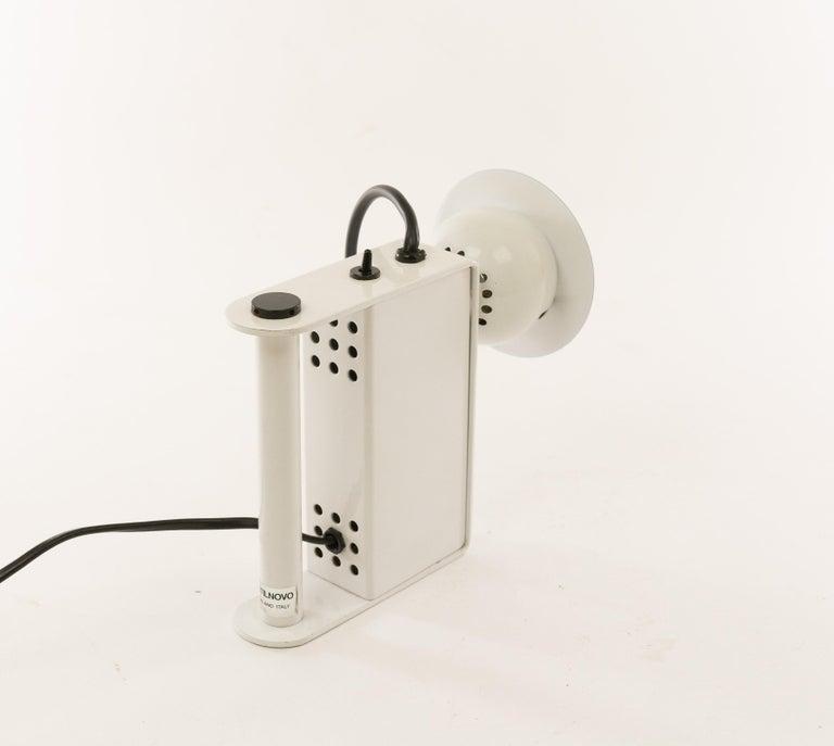 Minibox Table Lamp by Gae Aulenti & Piero Castiglioni for Stilnovo, 1980s In Excellent Condition For Sale In Rotterdam, NL