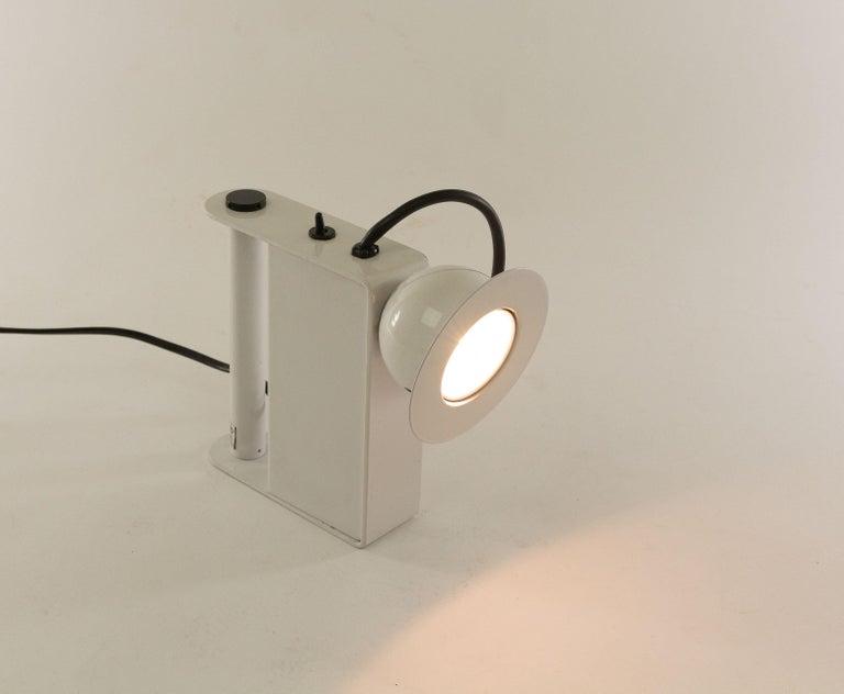 Minibox Table Lamp by Gae Aulenti & Piero Castiglioni for Stilnovo, 1980s For Sale 1
