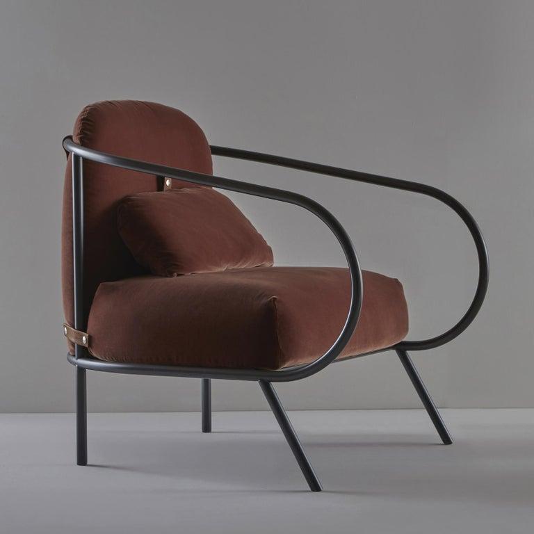 Italian Minima Armchair by Mingardo For Sale