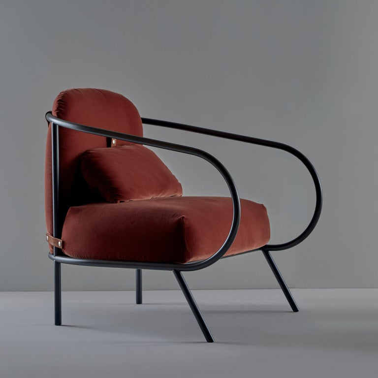 Minima Armchair by Mingardo In New Condition For Sale In Milan, IT