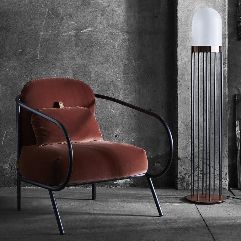 Contemporary Minima Armchair by Mingardo For Sale