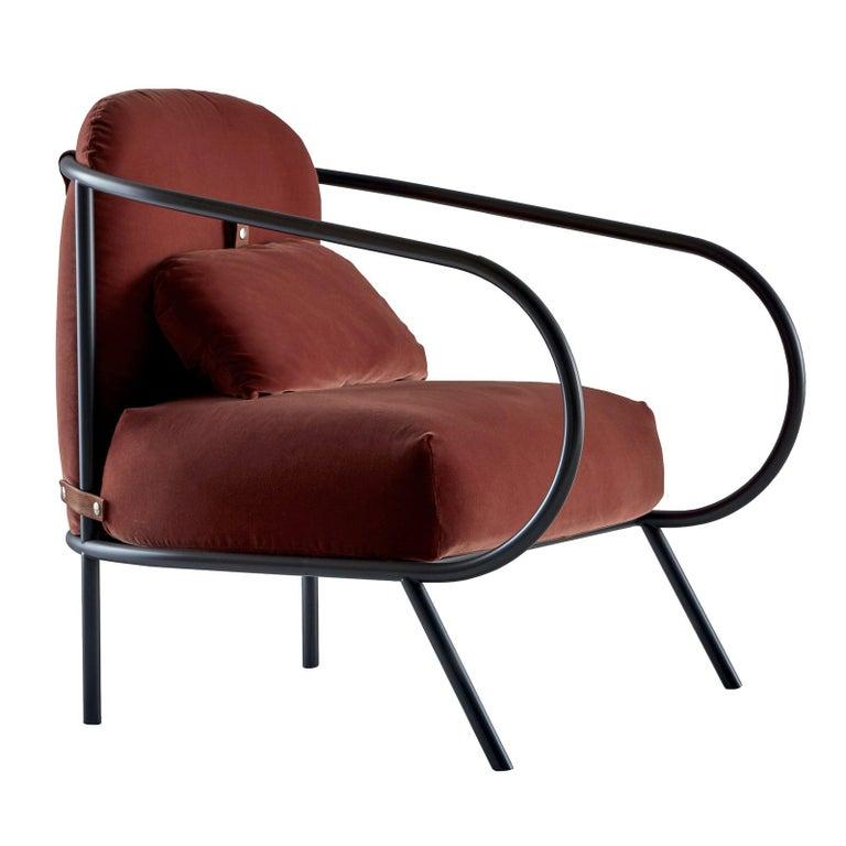 Minima Armchair by Mingardo For Sale