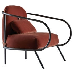 Minima Armchair in Red by Denis Guidone for Mingardo