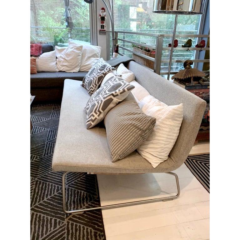 Organic Modern Minimal Modern Superlight 530 Sofa by Barber & Osgerby for Cappellini, 2000  For Sale