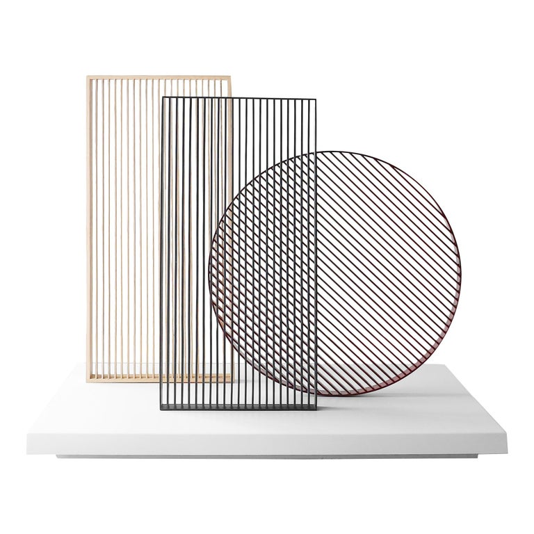 Minimal Sculpture and Decorative Piece Laws of Motion by Joel Escalona For Sale