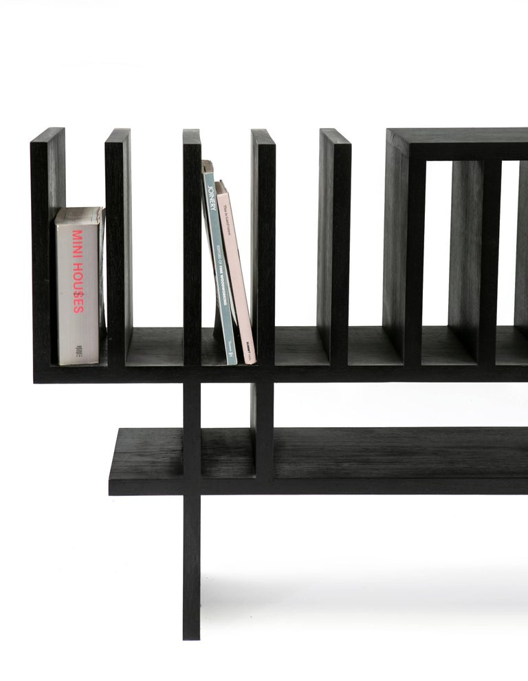 Contemporary Minimalist Buffet Handcrafted in Brazilian Hardwood, Paralelo For Sale