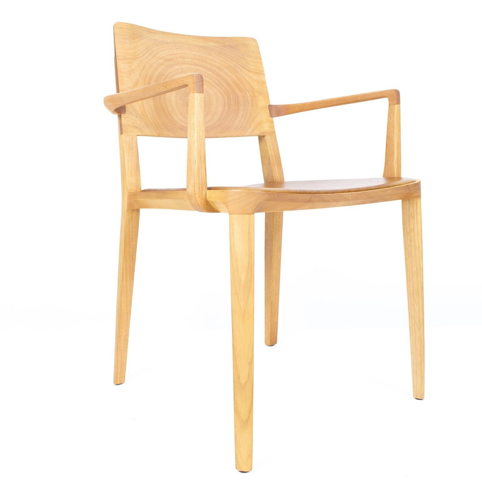 Minimalist Armchair in Hardwood