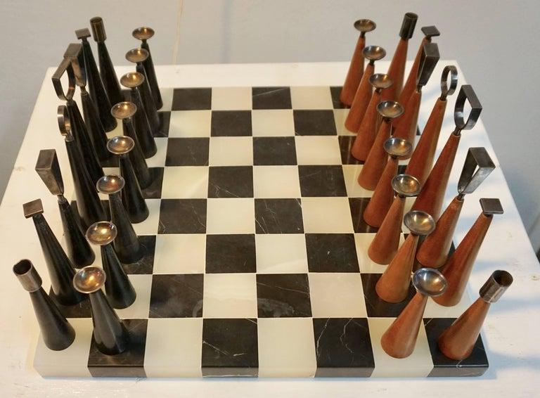 Minimalist Chess Set For Sale 2
