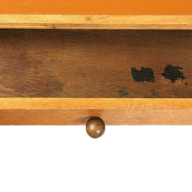 Mid-20th Century Minimalist Desk Designed by Art Deco Master Ruhlmann For Sale