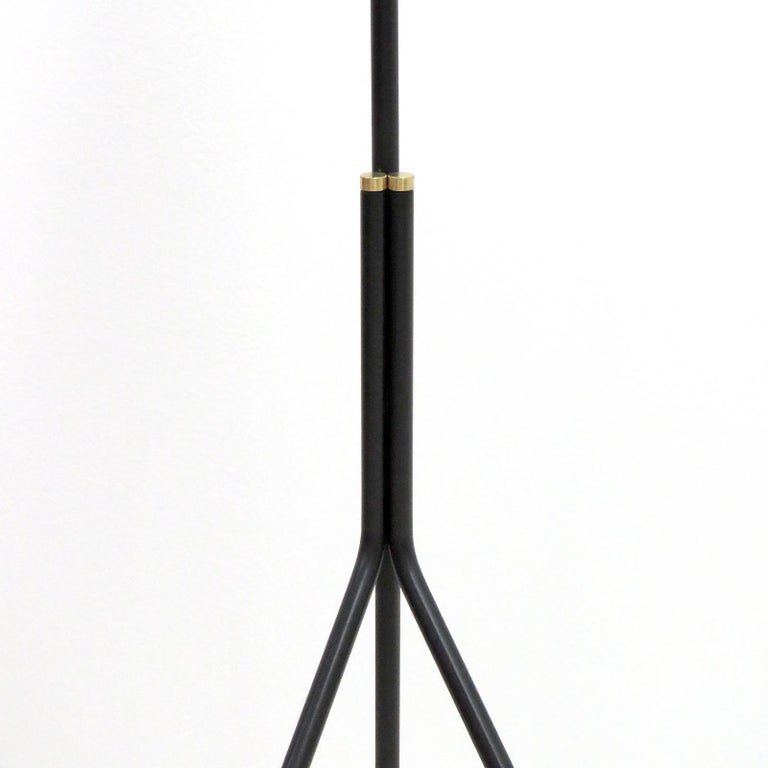 Brass Minimalist Floor Lamp 'Apex' by Gallery L7 For Sale