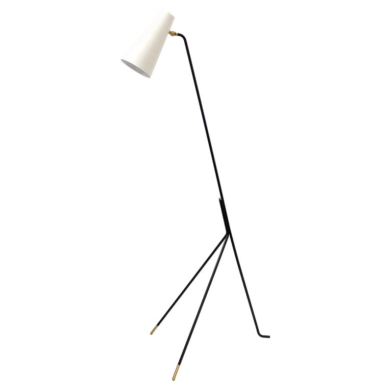 Minimalist Floor Lamp 'Apex' by Gallery L7 For Sale
