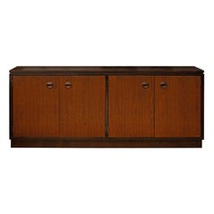 Minimalist Low Credenza by Edward Wormley for Dunbar