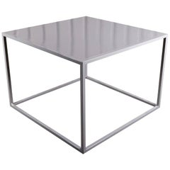 Minimalist Metal Dining Table
