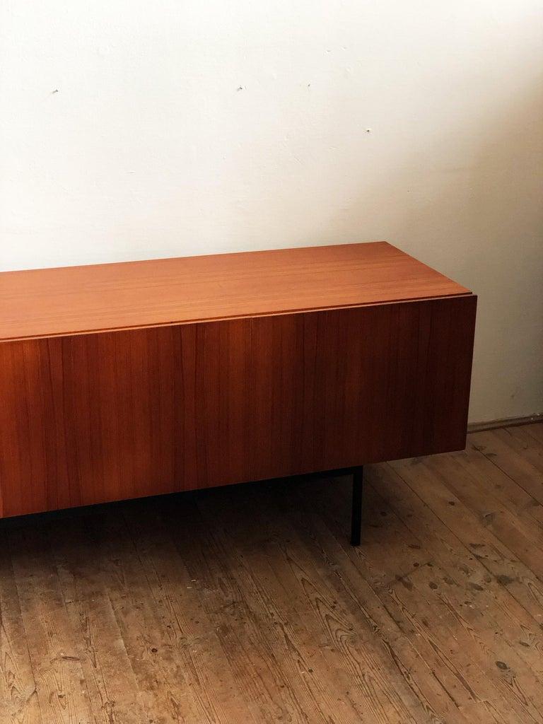 Minimalist Mid Century Teak Sideboard, B40 by Dieter Waeckerlin for Behr 3