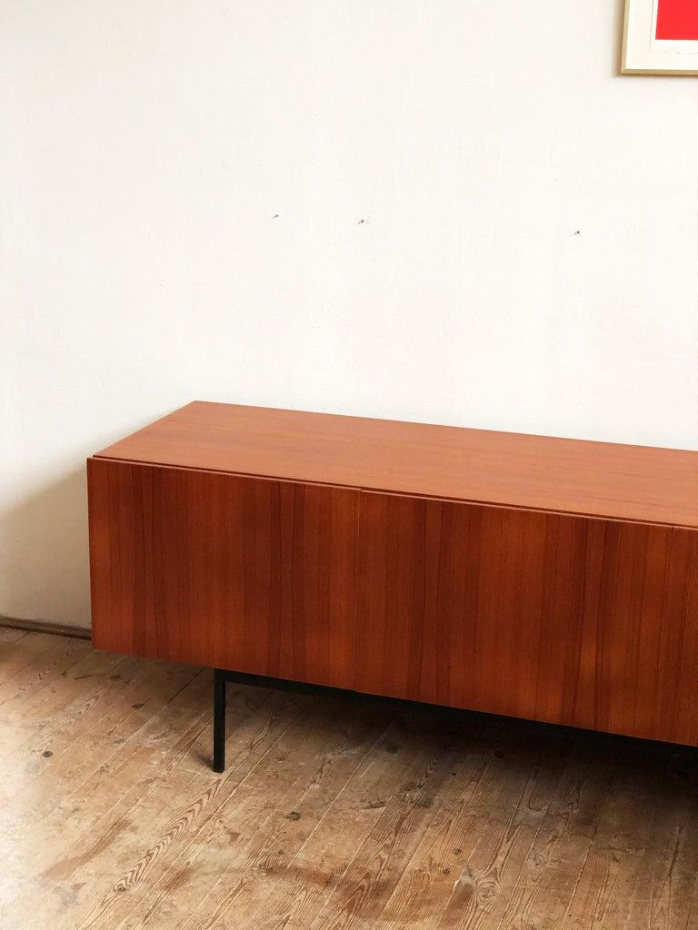 Minimalist Mid Century Teak Sideboard, B40 by Dieter Waeckerlin for Behr 4