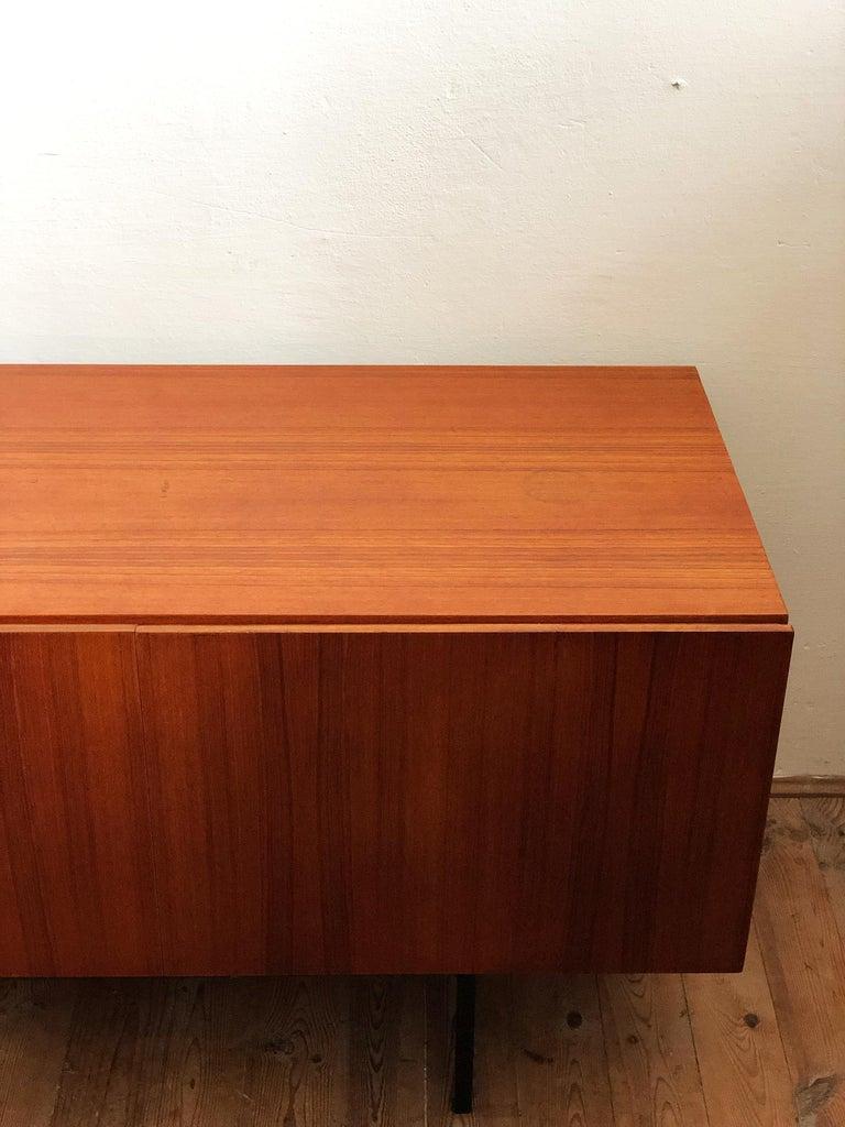 Minimalist Mid Century Teak Sideboard, B40 by Dieter Waeckerlin for Behr 5
