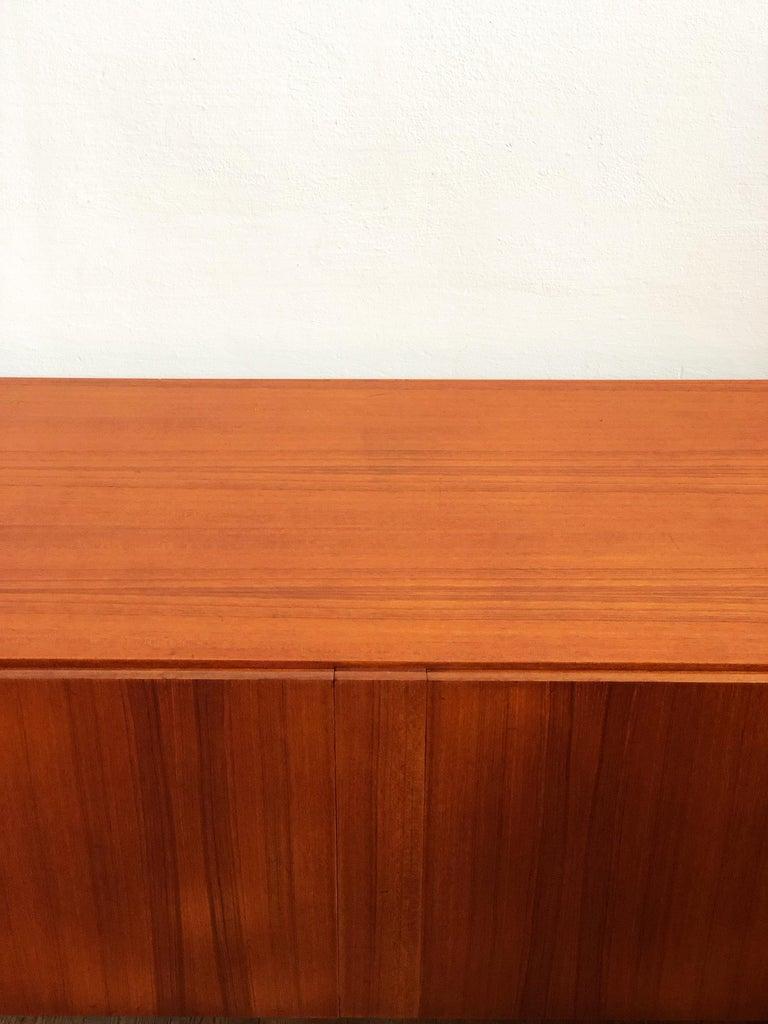 Minimalist Mid Century Teak Sideboard, B40 by Dieter Waeckerlin for Behr 6