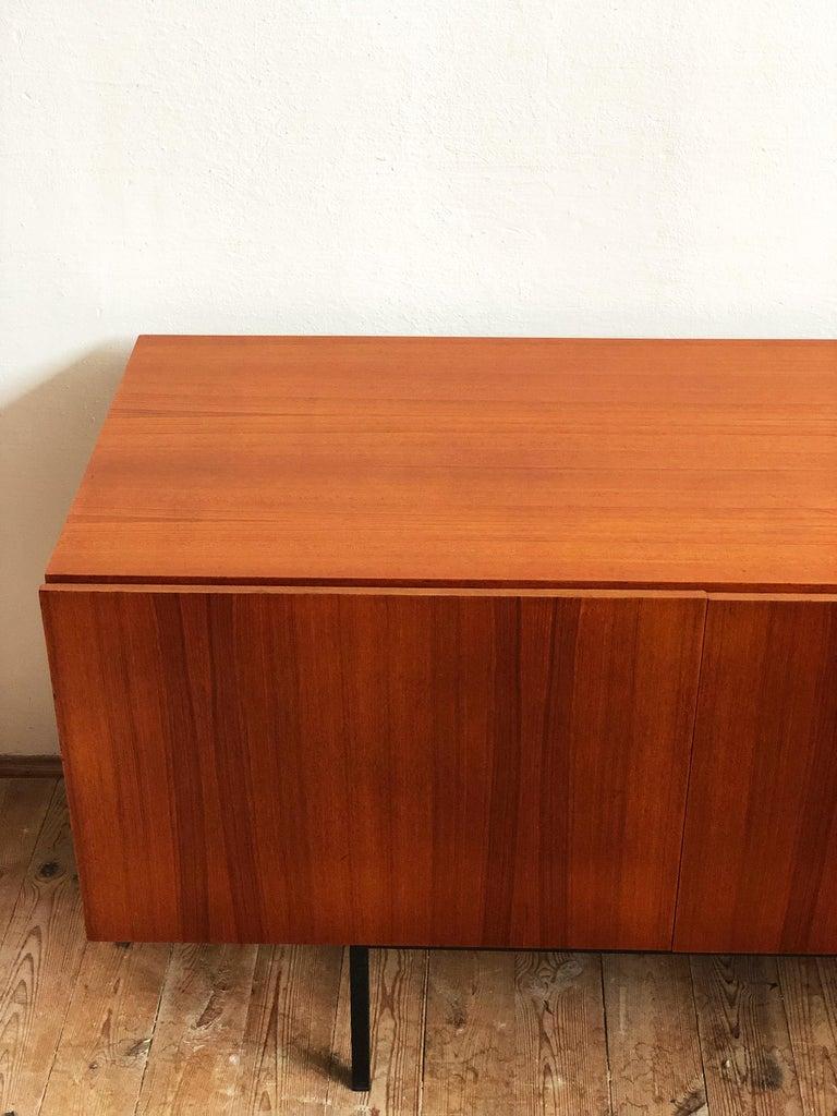 Minimalist Mid Century Teak Sideboard, B40 by Dieter Waeckerlin for Behr 7
