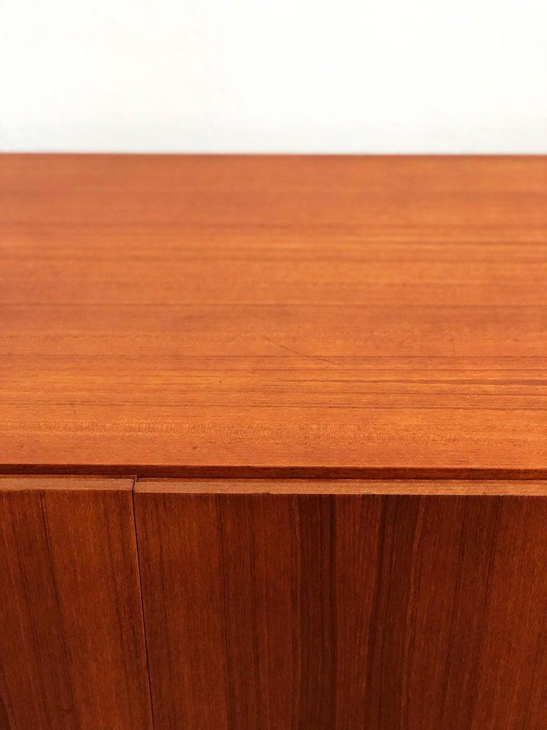 Minimalist Mid Century Teak Sideboard, B40 by Dieter Waeckerlin for Behr 8