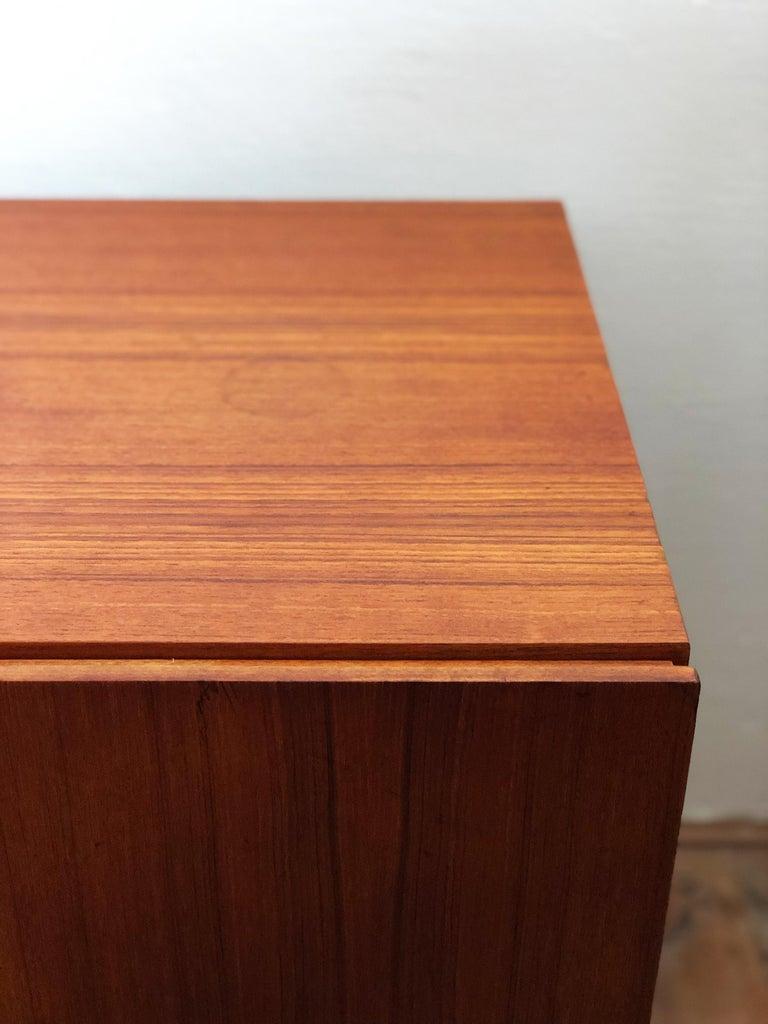 Minimalist Mid Century Teak Sideboard, B40 by Dieter Waeckerlin for Behr 10
