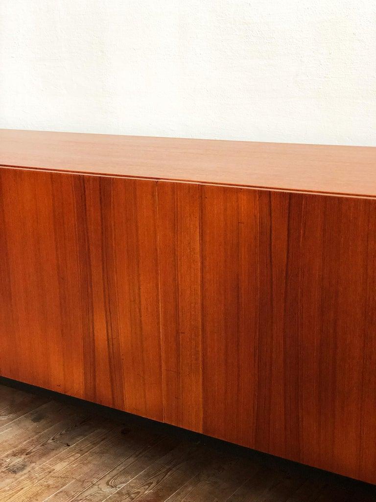 Minimalist Mid Century Teak Sideboard, B40 by Dieter Waeckerlin for Behr 11
