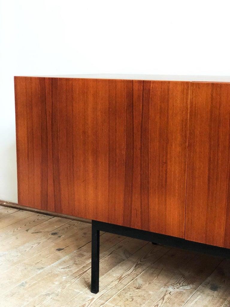 Minimalist Mid Century Teak Sideboard, B40 by Dieter Waeckerlin for Behr 12