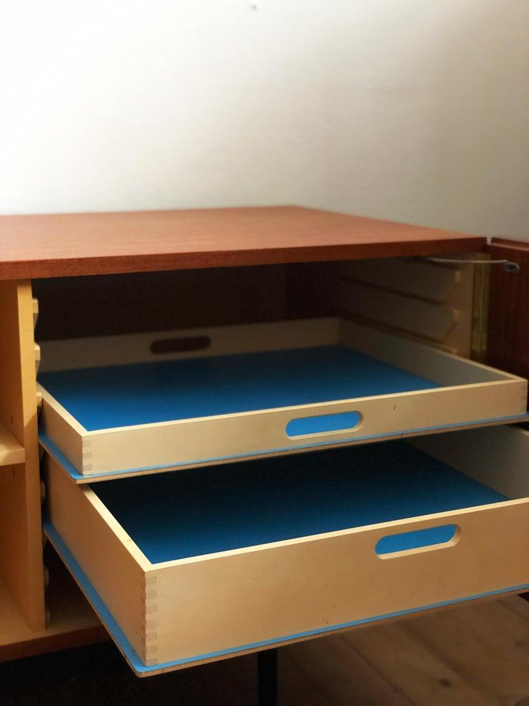 1950s Minimalist Mid Century Teak Sideboard, B40 by Dieter Waeckerlin for Behr