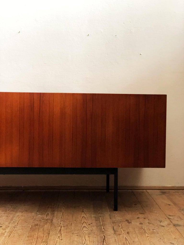 Minimalist Mid Century Teak Sideboard, B40 by Dieter Waeckerlin for Behr 2
