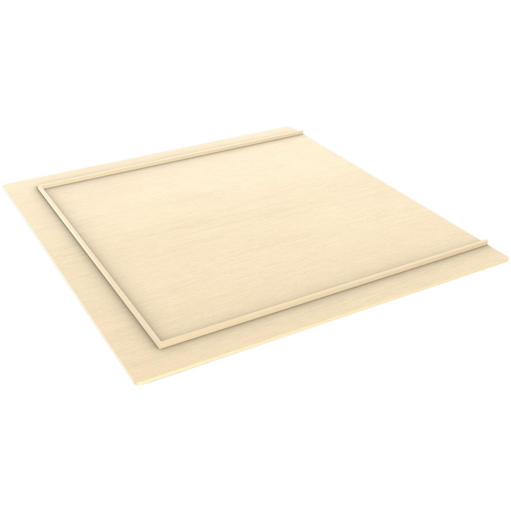 Minimalist Modern Maple Platform Queen Bed Frame, Judd Style